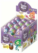 Шоколадное яйцо Шоки-Токи Фиксики 2 с игрушкой, молочный шоколад, коробка