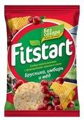 Хлебцы мультизлаковые Fitstart с пророщенными зернами и соком Брусника, Имбирь и Мед 16,5 г