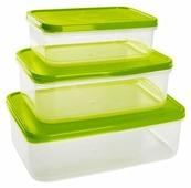 Giaretti Набор контейнеров для продуктов Vitamino прямоугольные