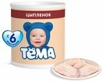 Пюре Тёма цыпленок (с 6 месяцев) 100 г, 1 шт
