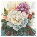 Lanarte Набор для вышивания Белая роза 25 х 25 см (PN-0165377)