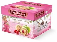Набор конфет Amapola Клюква и яблоко 100 г