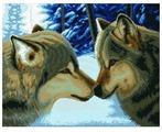 Белоснежка Набор для вышивания Два волка 47,5 x 37,5 см (2862)