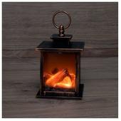 Светильник NEON-NIGHT Фонарь-камин Кантри, 12х18.5 см