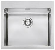 Врезная кухонная мойка smeg VQR50RS 56.7х50см нержавеющая сталь