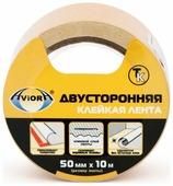 Клейкая лента Aviora Двусторонняя 50mm x 10m 303-006