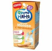 Коктейль молочный ФрутоНяня с печеньем (с 1 года) 2.4%, 0.2 л