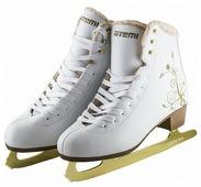 Детские фигурные коньки ATEMI AFSK-17.01 Star для девочек