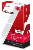 Видеокарта Sapphire Pulse Radeon RX 5700 1540MHz PCI-E 4.0 8192MB 14000MHz 256 bit HDMI 3xDisplayPort HDCP