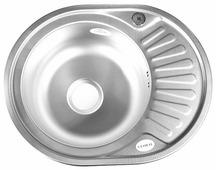 Врезная кухонная мойка Fabia 57x45 0.8/180 57х45см нержавеющая сталь
