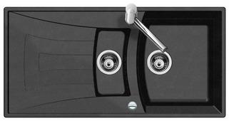 Врезная кухонная мойка TEKA Universo 60-TG 100х50см искусственный гранит