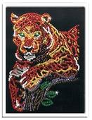 "Волшебная Мастерская Мозаика из пайеток ""Леопард"" 038"