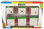 Набор головоломок Moyu 2x2x2-7x7x7 Cubing Classroom (цветная версия) 6 шт.