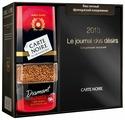 Кофе растворимый Carte Noire Diamant Rouge сублимированный подарочный набор с ежедневником