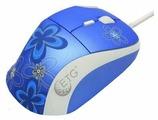 Мышь ETG EM8050-B-S Blue USB