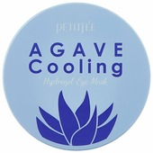 Petitfee Охлаждающие гидрогелевые патчи для век с экстрактом агавы Agave cooling hydrogel eye patch