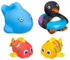 Набор для ванной BONDIBON Рыбки, кит, пингвин (ВВ1398)