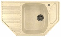 Врезная кухонная мойка Mixline ML-GM24 78х49см искусственный мрамор