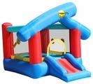 Надувной комплекс Happy Hop Игровой город 6 в 1 9111