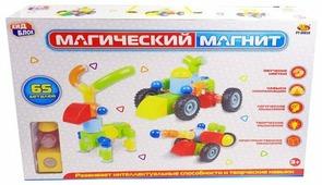 Магнитный конструктор ABtoys Магический магнит PT-00830