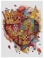 Белоснежка Набор для вышивания Королевское сердце 20 x 25 см (940)