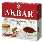 Чай черный Akbar 100 Years Limited Edition в пакетиках