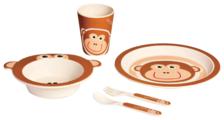 Комплект посуды Bambooware Обезьянка