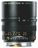 Объектив Leica Summicron-M 75mm f/2 APO Aspherical