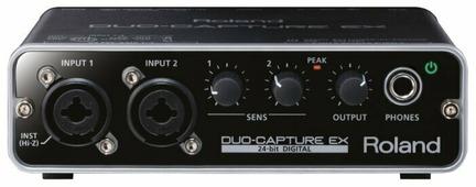Внешняя звуковая карта Roland Duo-Capture EX (UA-22) USB
