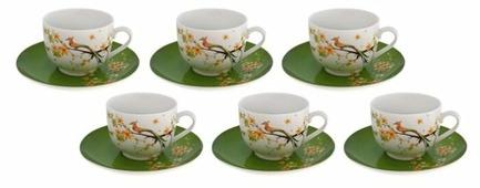 Чайный сервиз Domenik Paradise Bird 250 мл