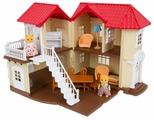 Игровой набор Игруша Лесная семейка Дом с мебелью и фигурками i-100576130
