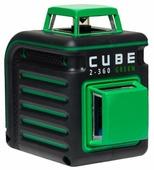 Лазерный уровень ADA instruments CUBE 2-360 Green Professional Edition (А00534) со штативом