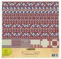 """Бумага Craft Premier 30,5x30,5 см, 6 листов, CP02730 """"Славянка"""" №2"""""""