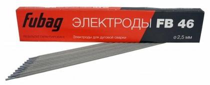 Электроды для ручной дуговой сварки Fubag FB46 2.5мм 0.9кг