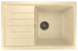 Врезная кухонная мойка Mixline ML-GM19 75х49.5см искусственный мрамор