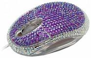Мышь Satzuma Diamante mouse Purple USB