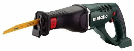 Электропила Metabo ASE 18 LTX без акб и ЗУ зеленый [602269850]