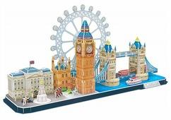 Пазл CubicFun Достопримечательности Лондона (MC253h), 107 дет.