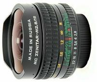 Объектив Зенит Зенитар-M 16mm f/2.8