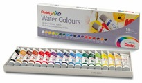 Pentel Акварель Arts Water Colours 18 цветов х 5 мл (WFRS-18)