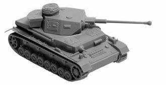 Сборная модель ZVEZDA Немецкий танк T-4 F2 (6251) 1:100
