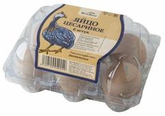 Яйцо цесариное ВкусВилл диетическое 6 шт.