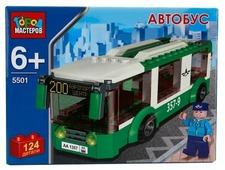 Конструктор ГОРОД МАСТЕРОВ Городской транспорт 5501 Автобус