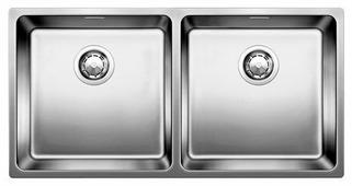 Интегрированная кухонная мойка Blanco Andano 400/400-IF с клапаном-автоматом