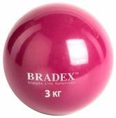 Медбол BRADEX SF 0258, 3 кг