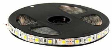 Светодиодная лента URM-LED 5050-60led-12V-14.4W-18-20LM-4000K-IP22-10mm 5 м