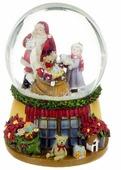 Снежный шар Lefard Новогодний музыкальный 175-108