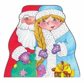 Почитаем, поиграем. Дед Мороз и Снегурочка