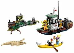 Конструктор LEGO Hidden Side 70419 Старый рыбацкий корабль