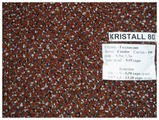 Придверный коврик Vebe Грязезащитный Kristall 80 коричневый
